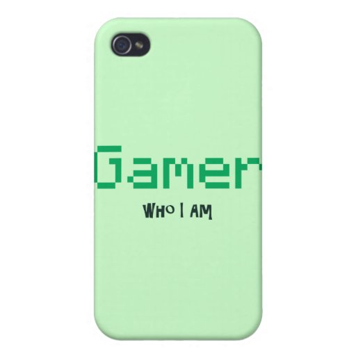 Gamer Who I Am iPhone 4 Covers