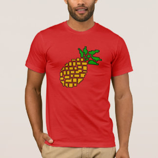 GamerFruit Mens Big Pineapple T-shirt (Dark)