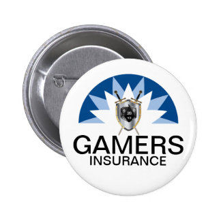 Gamers Insurance Pinback Buttons