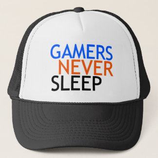 Gamers Never Sleep Trucker Hat