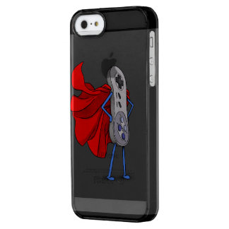 Gamer's SuperHero Clear iPhone SE/5/5s Case