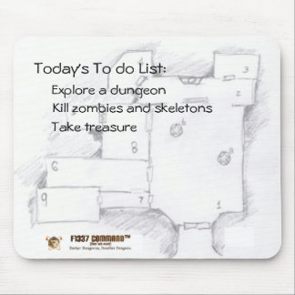 Gamer's To Do List Mouse Pad