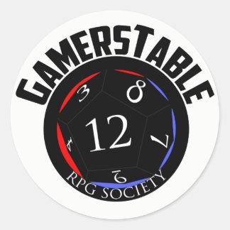 Gamerstable RPG Society Sticker (sheet of 6)