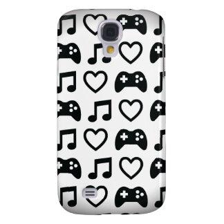 Games Music Love Samsung Galaxy S4 Cases