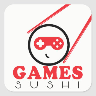 Games Sushi Sticker
