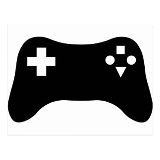 Gaming Console Postcard