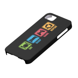 Gaming - Eat, Sleep, Game, Repeat - Gamer, Funny Case For The iPhone 5