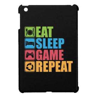 Gaming - Eat, Sleep, Game, Repeat - Gamer, Funny Cover For The iPad Mini