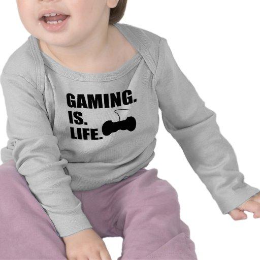 Gaming Is Life Shirt