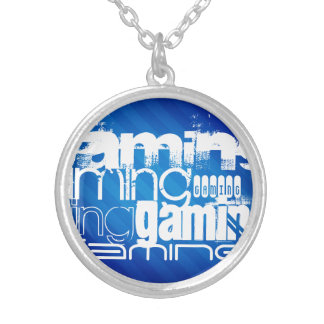 Gaming; Royal Blue Stripes Jewelry
