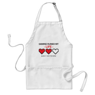 GAMING RUINED MY LIFE! STANDARD APRON