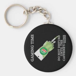 Gaming Time - Soda IV Basic Round Button Key Ring