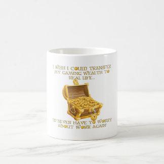 Gaming wealth coffee mug