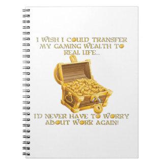 Gaming wealth notebook