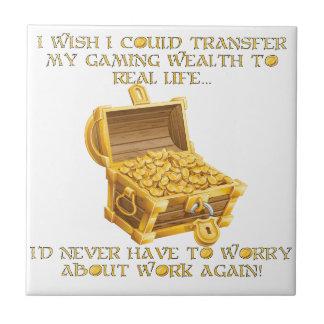 Gaming wealth tile