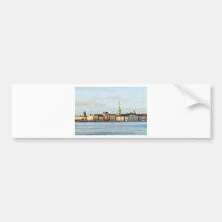 Gamla Stan in Stockholm, Sweden Bumper Sticker