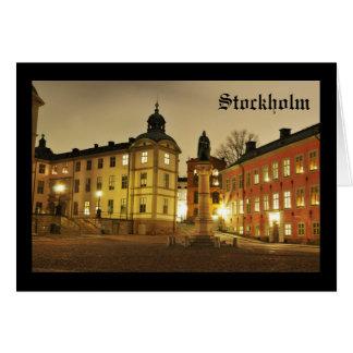 Gamla Stan in Stockholm, Sweden Card