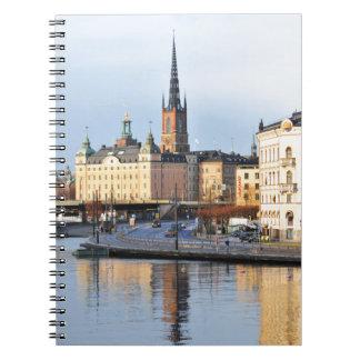 Gamla Stan in Stockholm, Sweden Notebooks