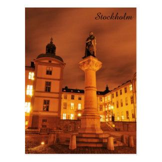 Gamla Stan in Stockholm, Sweden Postcard