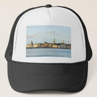 Gamla Stan in Stockholm, Sweden Trucker Hat