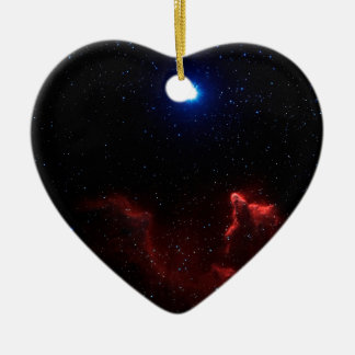 Gamma Cassiopeiae Ceramic Heart Decoration