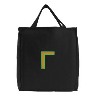 Gamma Column with Fill (Part1) Canvas Bag