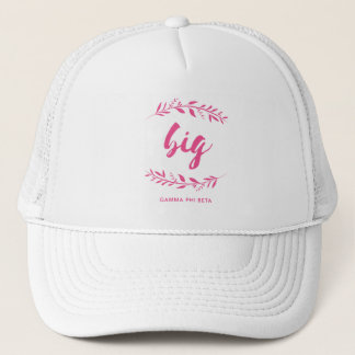 Gamma Phi Beta Big Wreath Trucker Hat