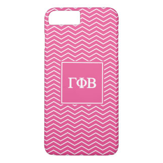 Gamma Phi Beta | Chevron Pattern iPhone 8 Plus/7 Plus Case