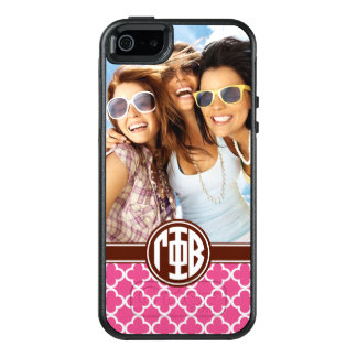 Gamma Phi Beta | Custom Monogram Pattern OtterBox iPhone 5/5s/SE Case