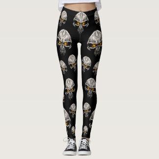 Gamut O Evolution skulls_leggings Leggings