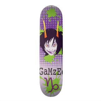 GaMzEe Skateboard Deck