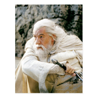 Gandalf the White with Sword Postcard