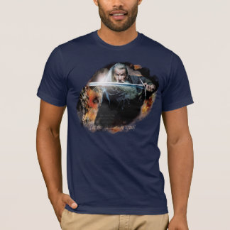Gandalf With Sword In Battle T-Shirt
