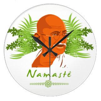 Gandhi clock