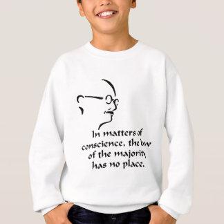Gandhi Conscience Sweatshirt