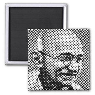 Gandhi Dot Matrix Effect Square Magnet