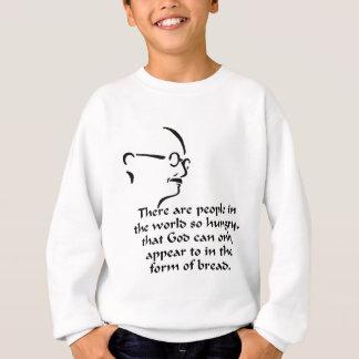 Gandhi Hunger Sweatshirt