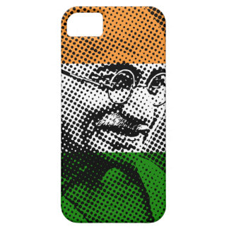 Gandhi + Indian Flag iPhone 5C Case