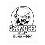 Gandhi is my Homeboy Postcard