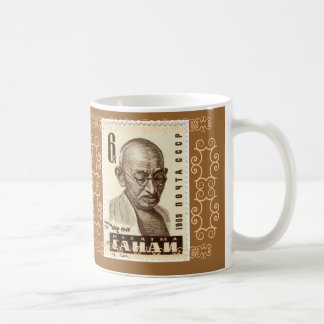 Gandhi Mug First they ignore