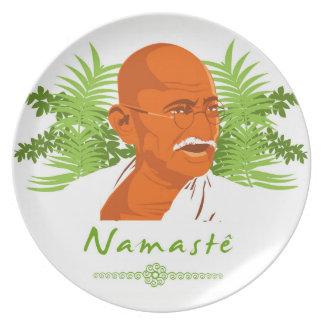 Gandhi plate
