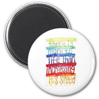 Gandhi Quote 6 Cm Round Magnet