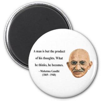 Gandhi Quote 8b 6 Cm Round Magnet