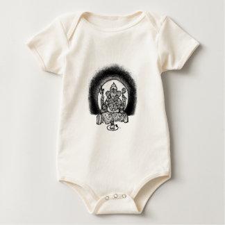 ganesh baby bodysuit