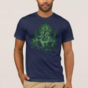 Ganesh detail GREEN T-Shirt