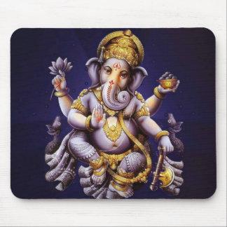 Ganesh Ganesha Hindu India Asian Elephant Deity Mouse Pad