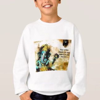 Ganesh Ganesha Hindu India Asian Elephant Deity Sweatshirt