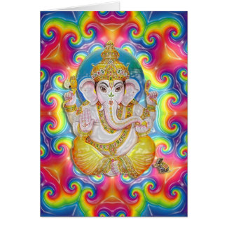 Ganesh greetings card