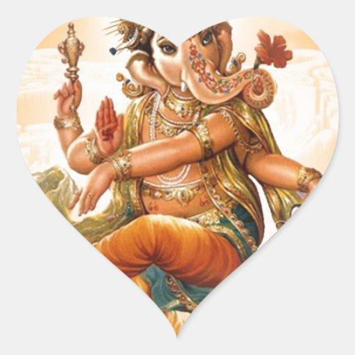 GANESH HINDU GOD STICKERS