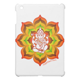 Ganesh in Lotus iPad Mini Case